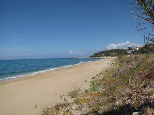 Ligia Strand (20 km von Parga)