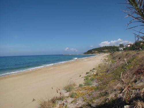Ligia strand (20 km van Parga stad)