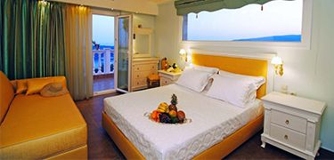Deluxe Room Panoramic Sea View parga princess hotel